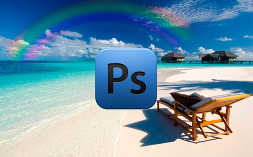 Photoshop creare un arcobaleno eugenio corrao web design for Arcobaleno design