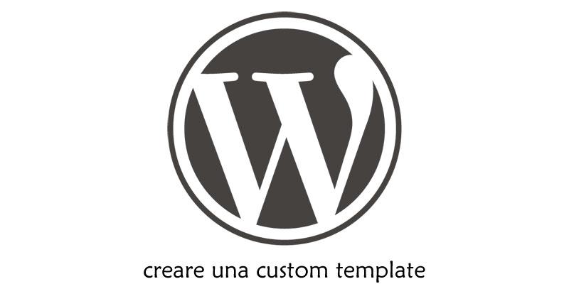 wordpress creare una custom template eugenio corrao web design. Black Bedroom Furniture Sets. Home Design Ideas