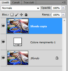 photoshop sfondo top