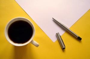 pen-paper-coffee